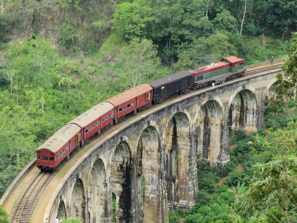 Trein Sri Lanka