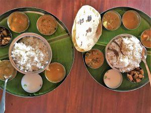 Typische gerechten in Sri Lanka