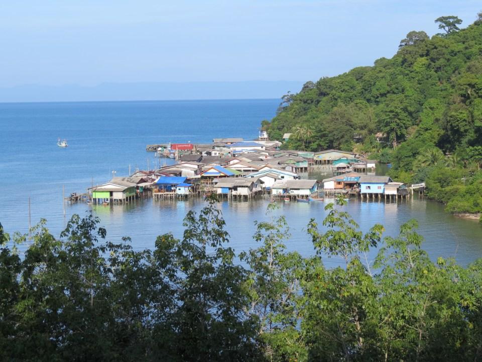 Vissersdorp Koh Kood Thailand