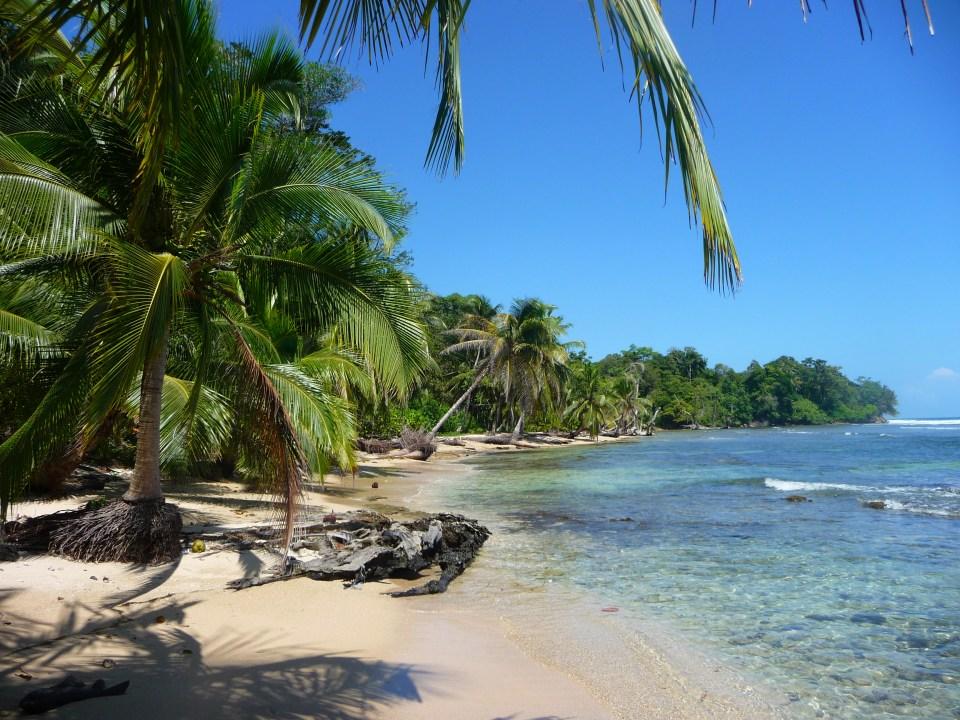 Strand Bocas del Toro Panama