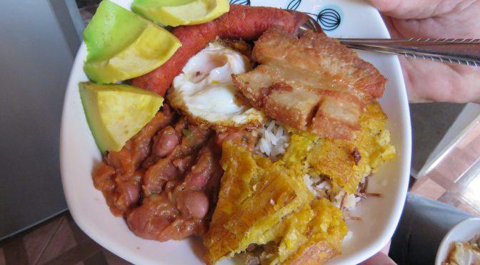 Eten bij de locals in Medellin