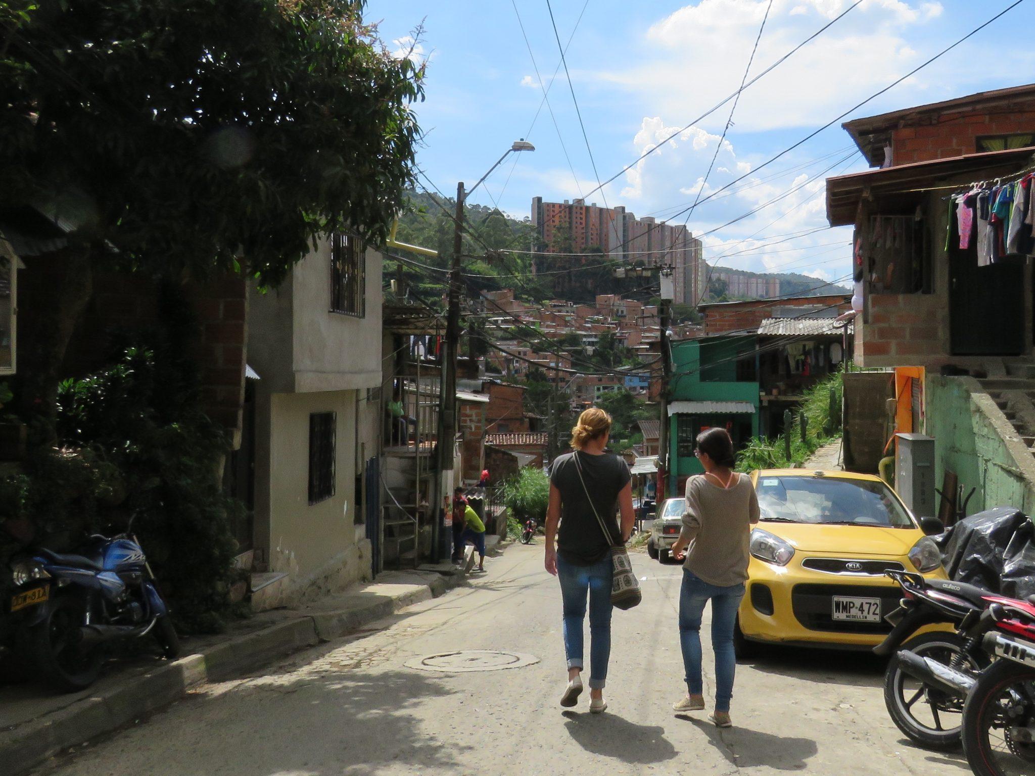 Barrio Caicedo in  Medellin Colombia