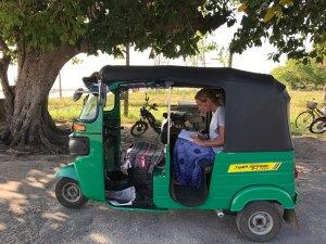 Dagtrip tuktuk Jaffna Sri Lanka