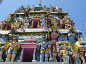 straatbeeld Negombo Sri Lanka