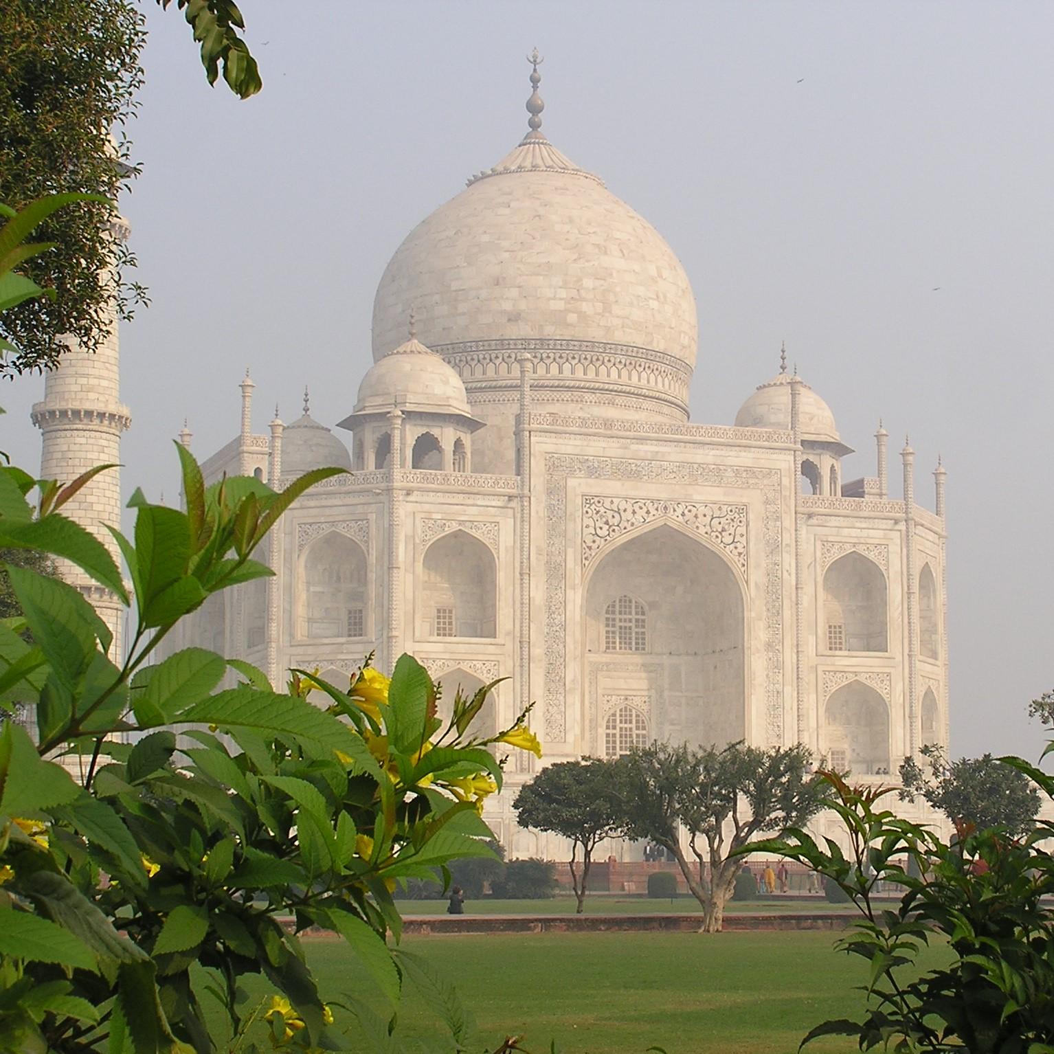Noord-India foto Taj Mahal