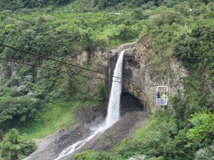 Ziplinen in Banos Ecuador