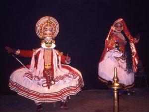 Kathakali dansen Kochi India
