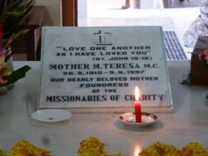 Het huis van moeder Theresa Kolkata India
