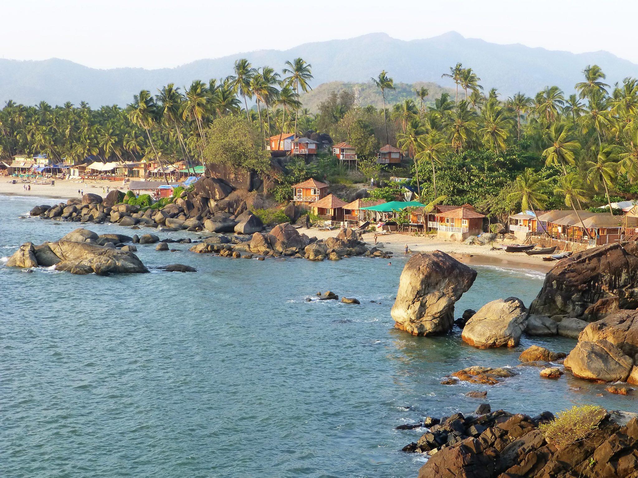 Palolem, het mooiste strand van Goa India