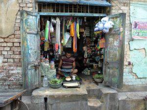 winkeltje in India