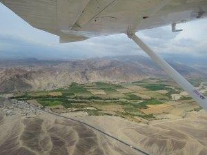 Vliegen boven Nazca Peru