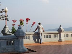 Uitzicht vanaf Wat Santikhiri Mae Salong Thailand