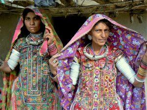Stammen bij Kutch Gujarat India