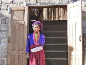 Authentieke kleding Kalaw Myanmar