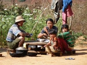 Lokale bevolking omgeving Kalaw