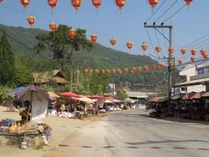 dorp Mae Salong Thailand