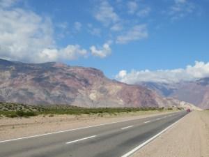 De eindeloze wegen in Argentinië
