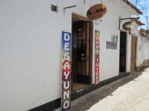 Bakkerijtje Cusco