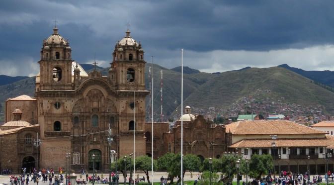 Cusco stad Peru