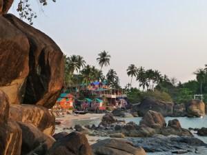 Hippie vibe in Palolem Goa India