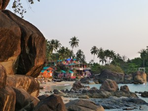 Hippie vibe in Palolem Goa India