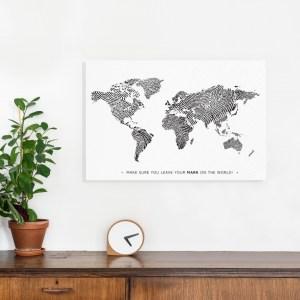 Winactie Wereldkaart Hip on Trip