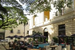 Ontbijten Café Peon Contrera Merida Mexico