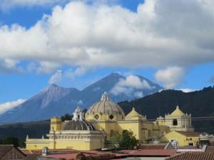 Uitzicht Vista al Cerro Antigua Guatemala