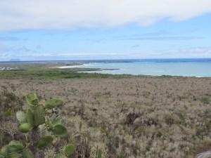Uitzicht op Isabela Island Galapagos