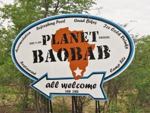 Planet Baobab camping Gweta Botswana