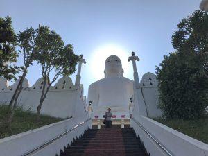 Bahiravokanda Vihara Buddha Statue Kandy Sri Lanka