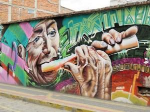 Street Art Otavalo Ecuador