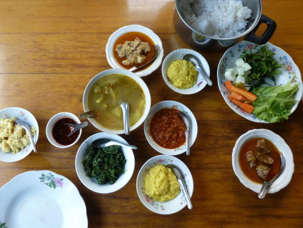 Birmees eten Myanmar