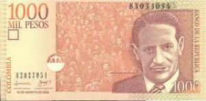 1000 Colombiaanse peso