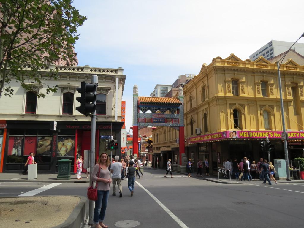 Stadsbeeld-Melbourne
