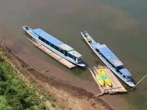 Boten over de Mekong