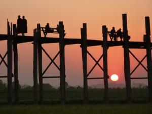 U Bein Bridge Myanmar
