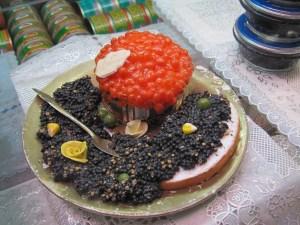 kaviaar eten