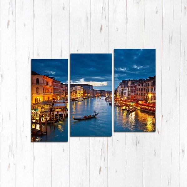 Модульная картина Вечерняя Венеция