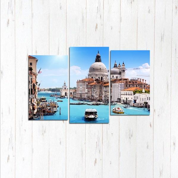 Модульная картина Лазурная Венеция