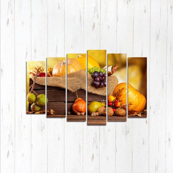 Модульная картина Осенний натюрморт