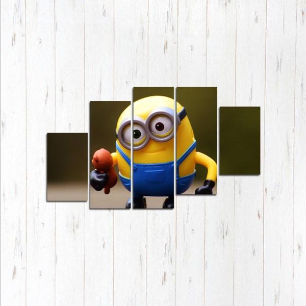 Модульная картина Миньон игрушка