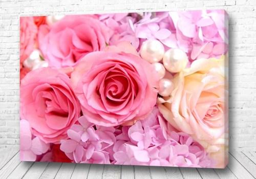 Постер Жемчужные розы