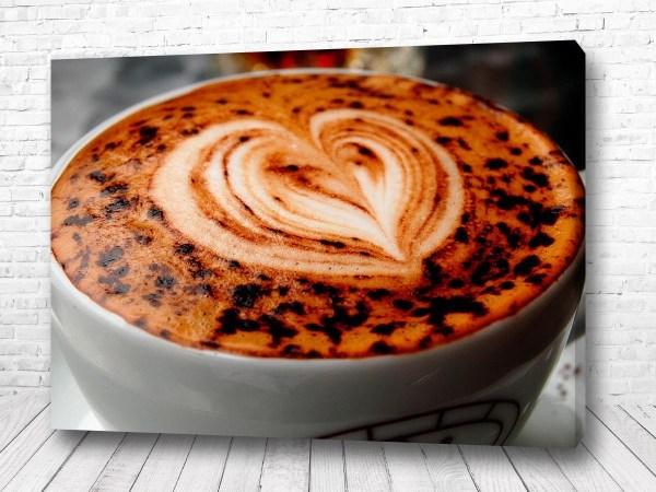 Постер Кофейное сердце
