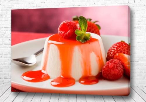 Постер Клубничный десерт
