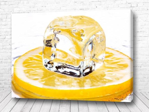 Постер Лимонный лёд