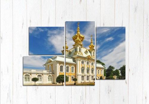 Модульная картина Питерский собор