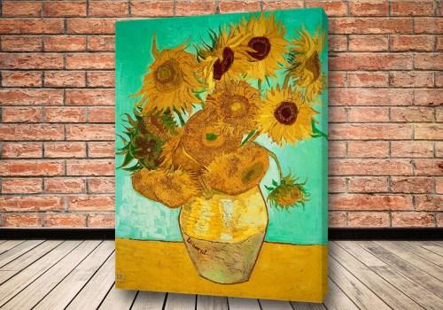 Картина Подсолнухи Ван Гог