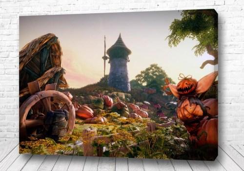 Постер Тыква у замка