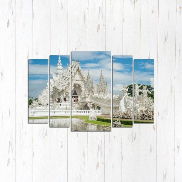 Модульная картина Белый храм